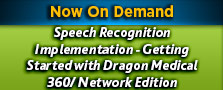 Dragon Speech Recognition